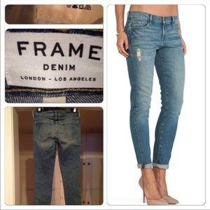 NEW Frame Le Skinny de Jeanne Denim